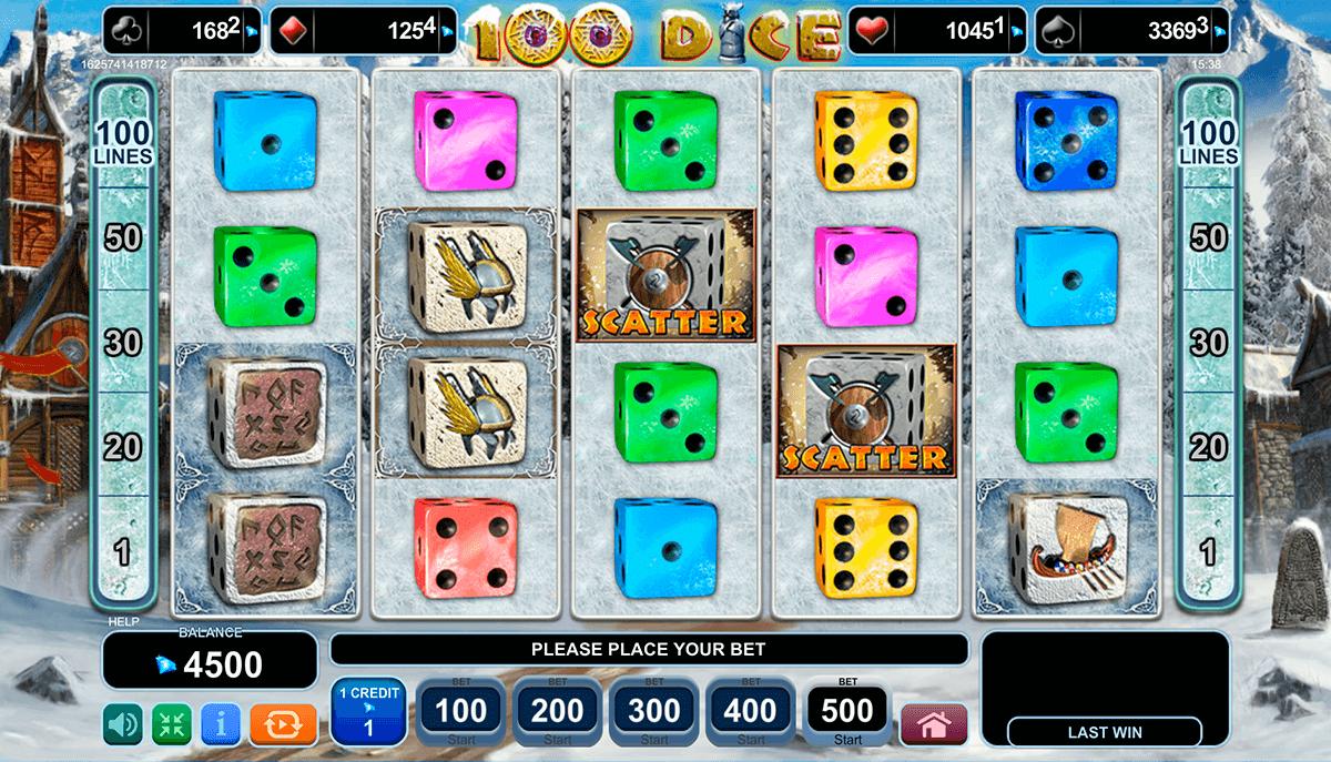100 dice egt tragamonedas gratis