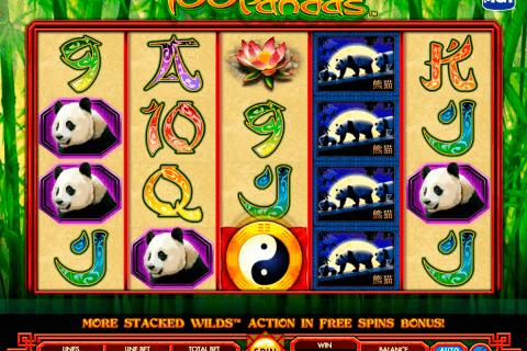 pandas igt tragamonedas gratis