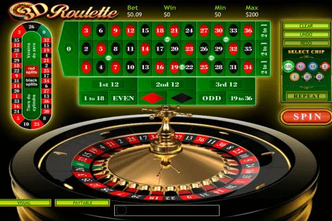 d roulette playtech