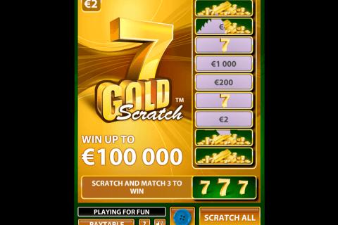 gold scratch netent