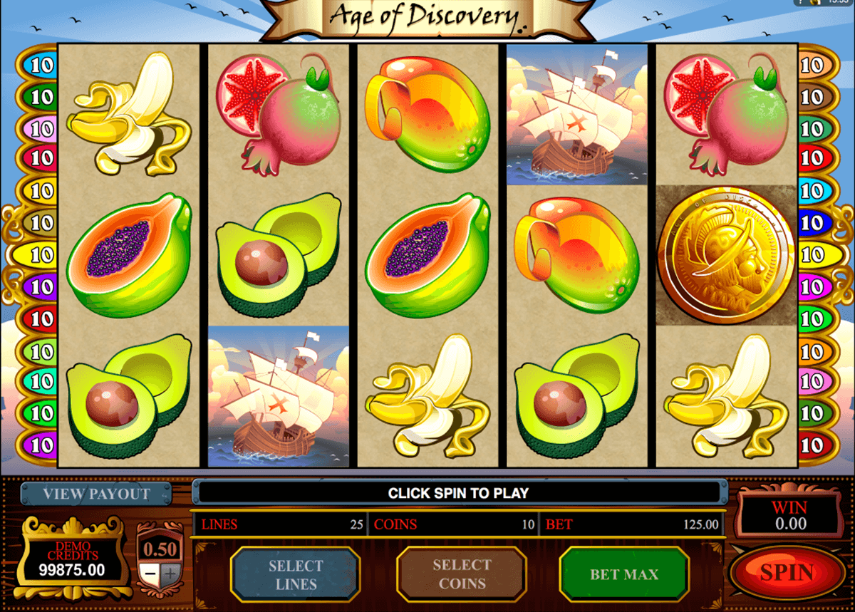 Spiele Voyage Of Discovery - Video Slots Online