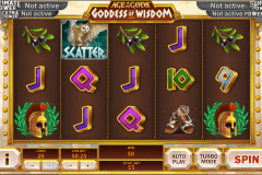 age of the gods goddess of wisdom playtech tragamonedas gratis