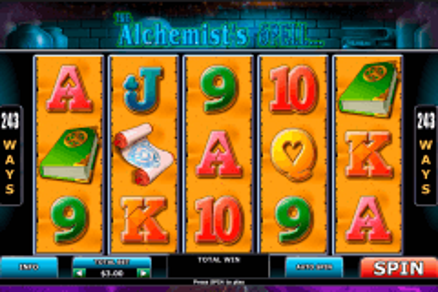 alchemists spell playtech tragamonedas gratis