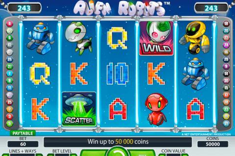 alien robots netent tragamonedas gratis