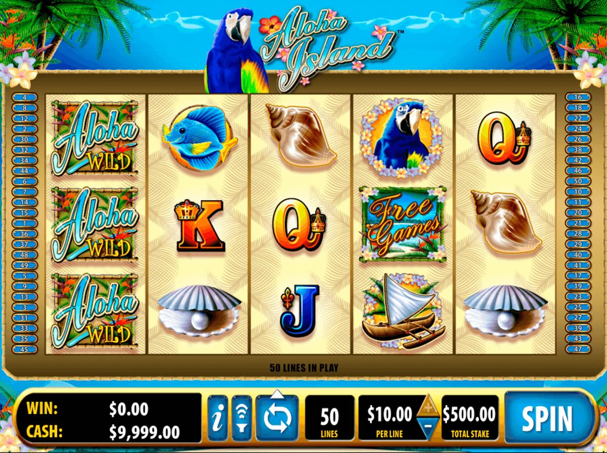aloha island bally tragamonedas gratis