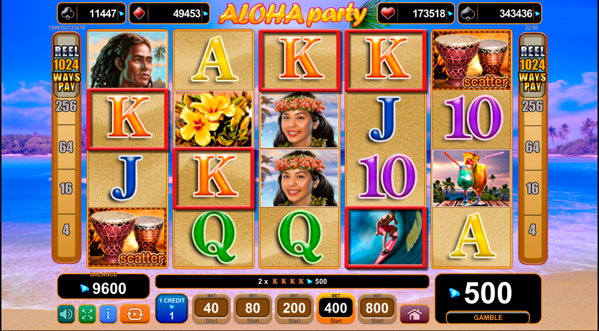 aloha party egt tragamonedas gratis