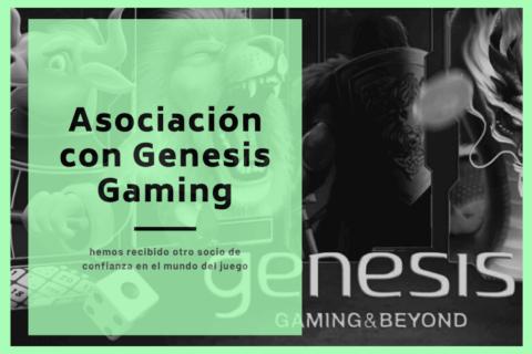 asociacion con genesis gaming
