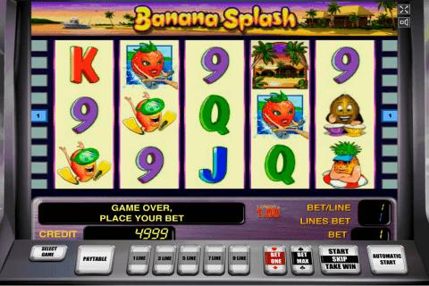 banana splash novomatic tragamonedas gratis
