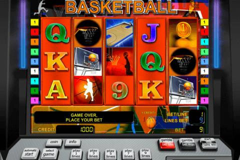 basketball novomatic tragamonedas gratis