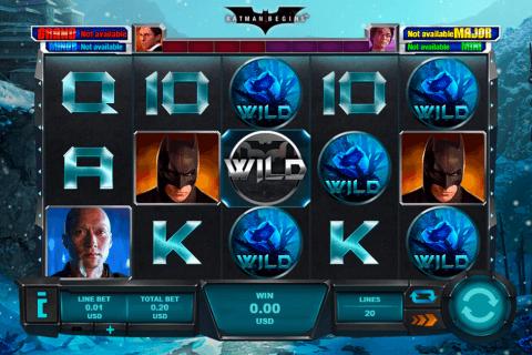 batman begins playtech tragamonedas gratis
