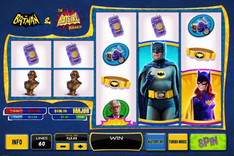 batman the batgirl bonanza playtech tragamonedas gratis