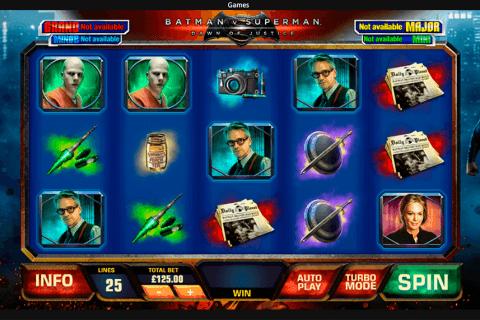 batman v superman dawn of justice playtech tragamonedas gratis