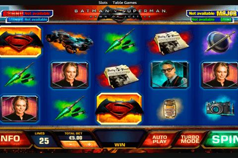 batman vs superman playtech tragamonedas gratis