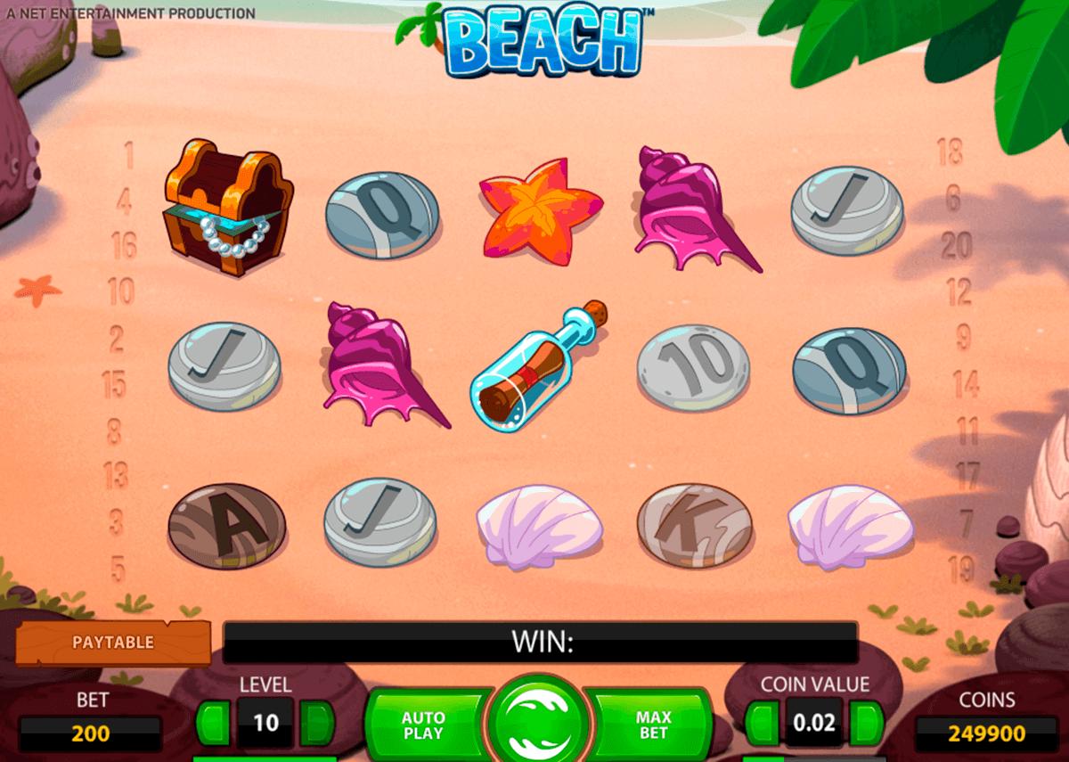 beach netent tragamonedas gratis