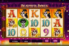 beautiful bones microgaming tragamonedas gratis