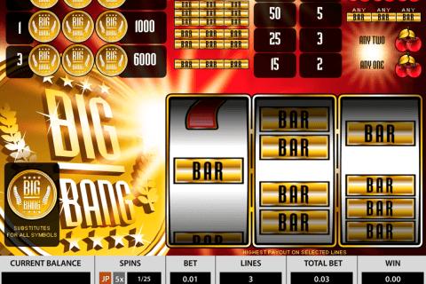 big bang pragmatic tragamonedas gratis