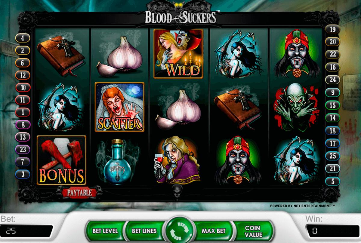 blood suckers netent tragamonedas gratis