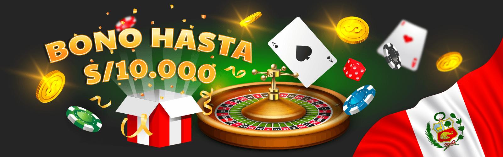 Bonos de casinos online para jugadores peruanos