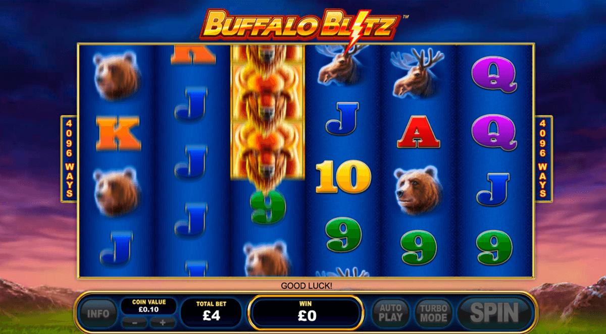 buffalo blitz playtech tragamonedas gratis