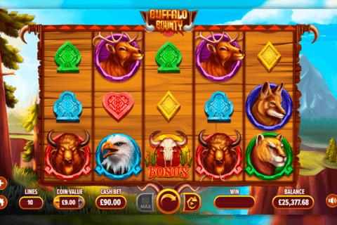 buffalo bounty dragongaming tragamonedas gratis