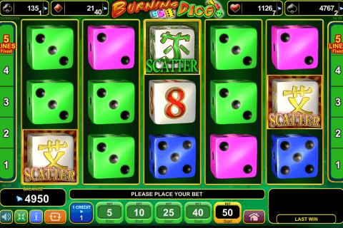 burning dice egt tragamonedas gratis