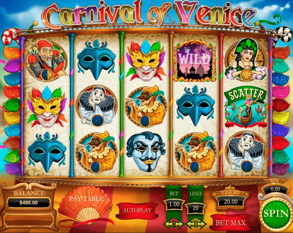 carnival of venice pragmatic tragamonedas gratis