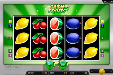 cash fruits plus merkur tragamonedas gratis