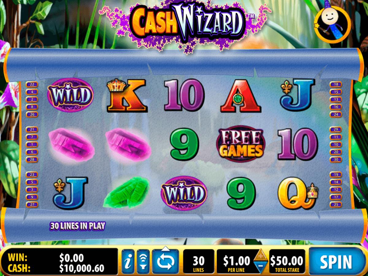 cash wizard bally tragamonedas gratis