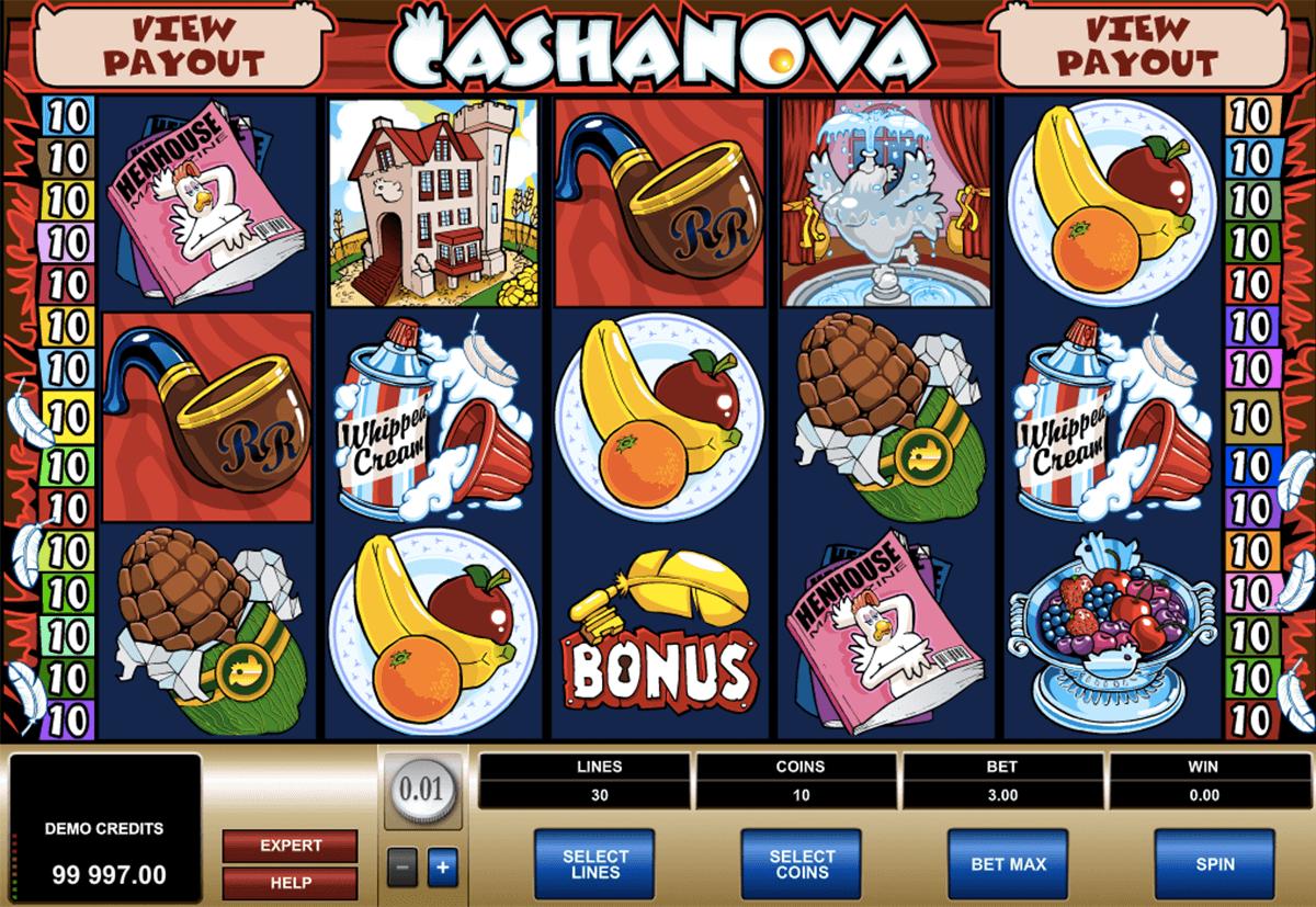 cashanova microgaming tragamonedas gratis