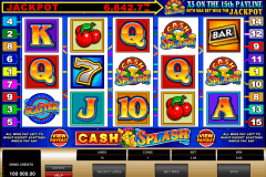 cashsplash video slot microgaming tragamonedas gratis