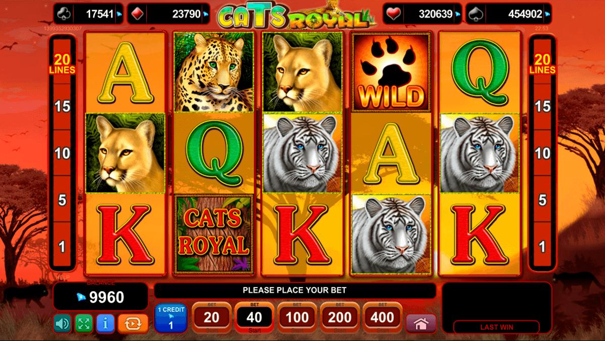 cats royal egt tragamonedas gratis