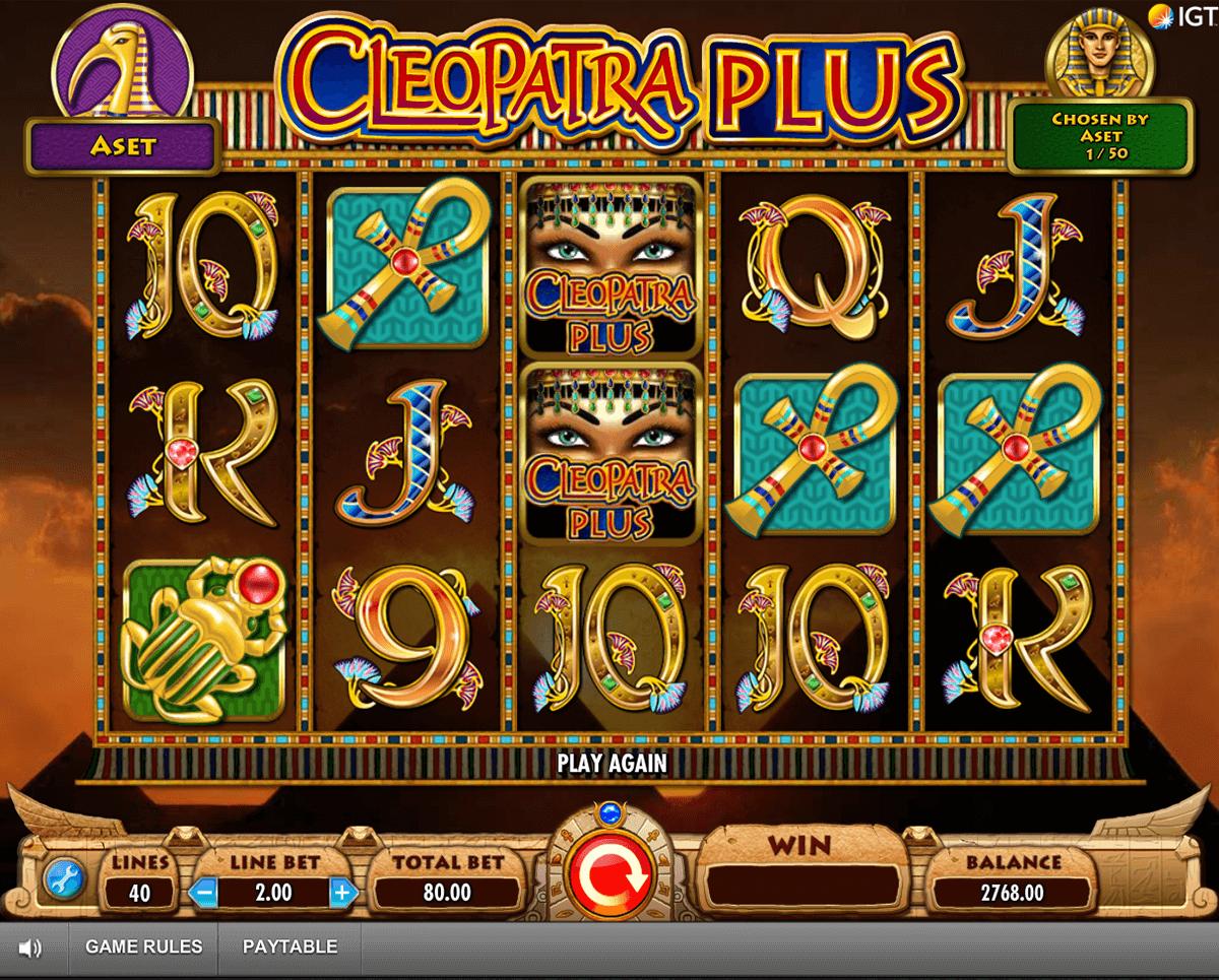 cleopatra plus igt tragamonedas gratis