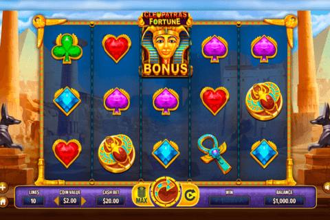cleopatra s fortune dragongaming tragamonedas gratis