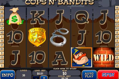 cops n bandits playtech tragamonedas gratis