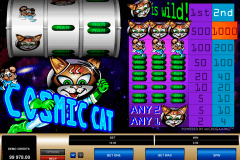 cosmic cat microgaming tragamonedas gratis