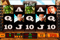cowboys and aliens playtech tragamonedas gratis