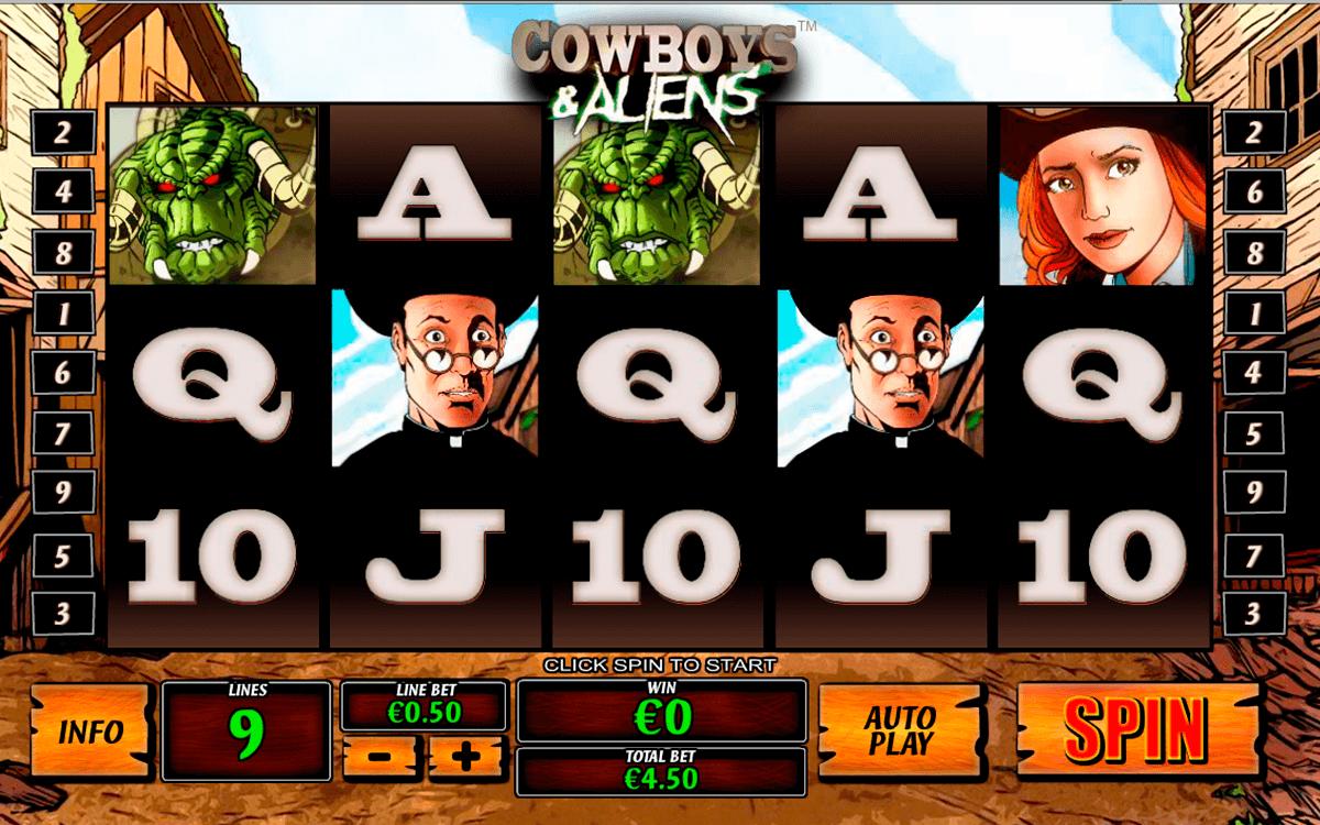 cowboys and aliens playtech tragamonedas gratis