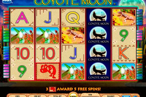 coyote moon igt tragamonedas gratis