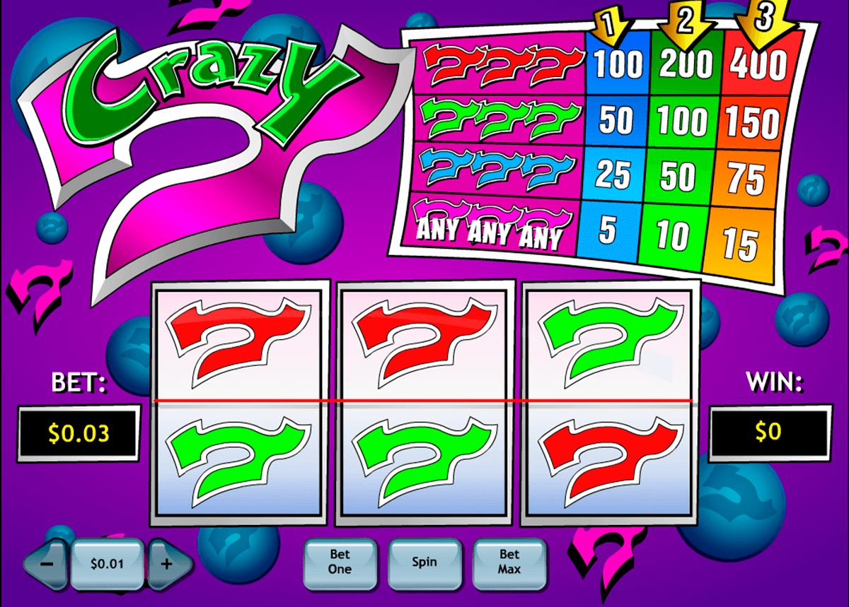 crazy 7 playtech tragamonedas gratis