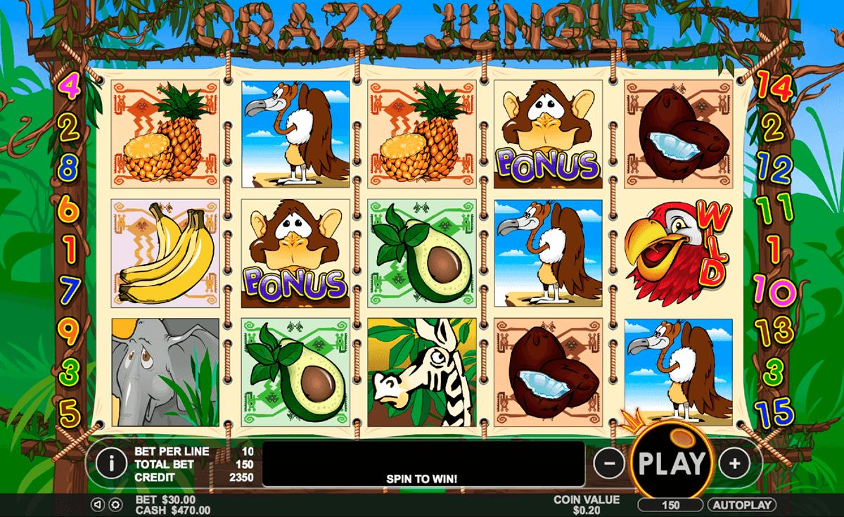crazy jungle pragmatic tragamonedas gratis