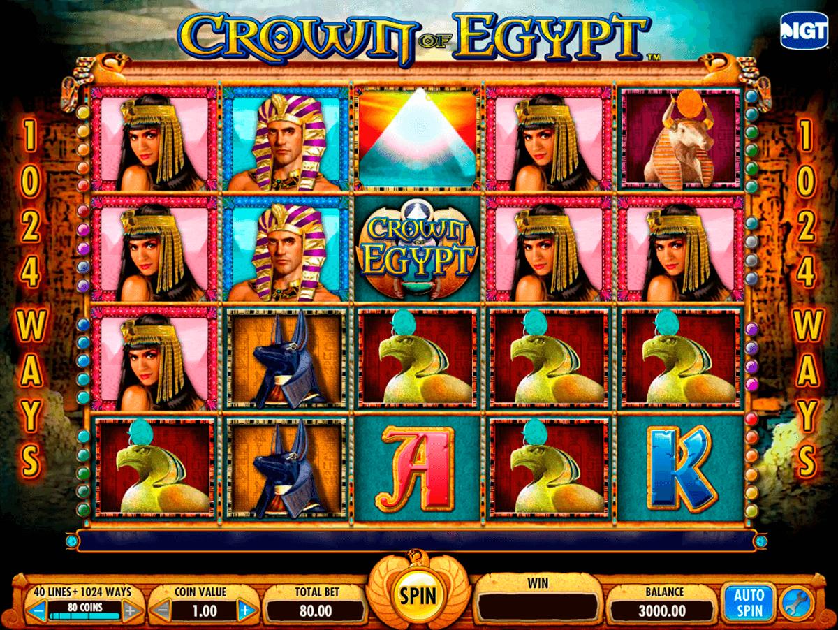 crown of egypt igt tragamonedas gratis