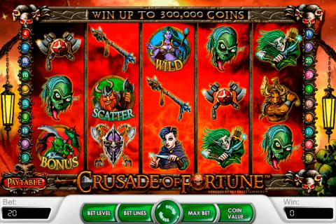 crusade of fortune netent tragamonedas gratis