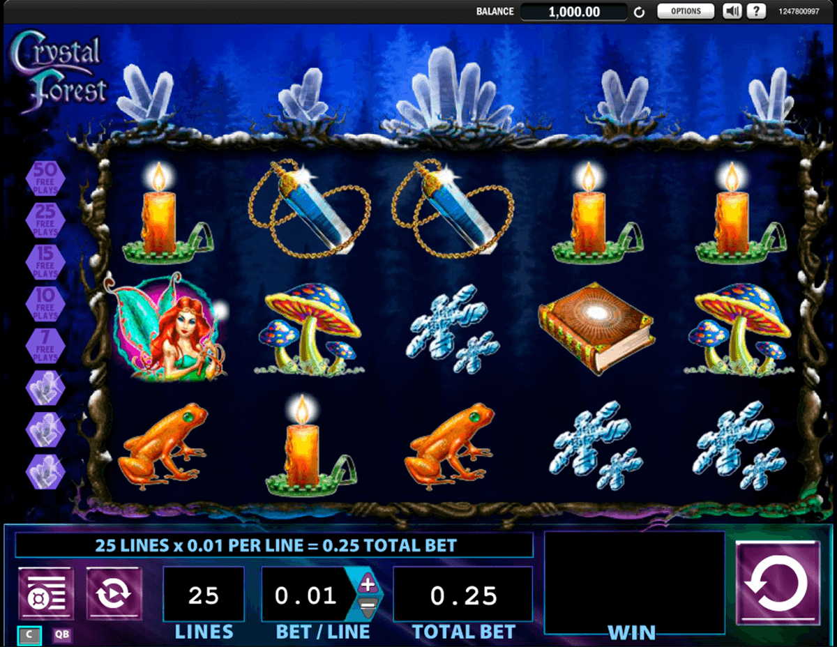 crystal forest wms tragamonedas gratis