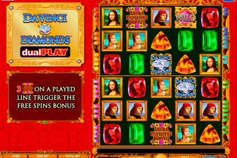 da vinci diamond dual play igt tragamonedas gratis