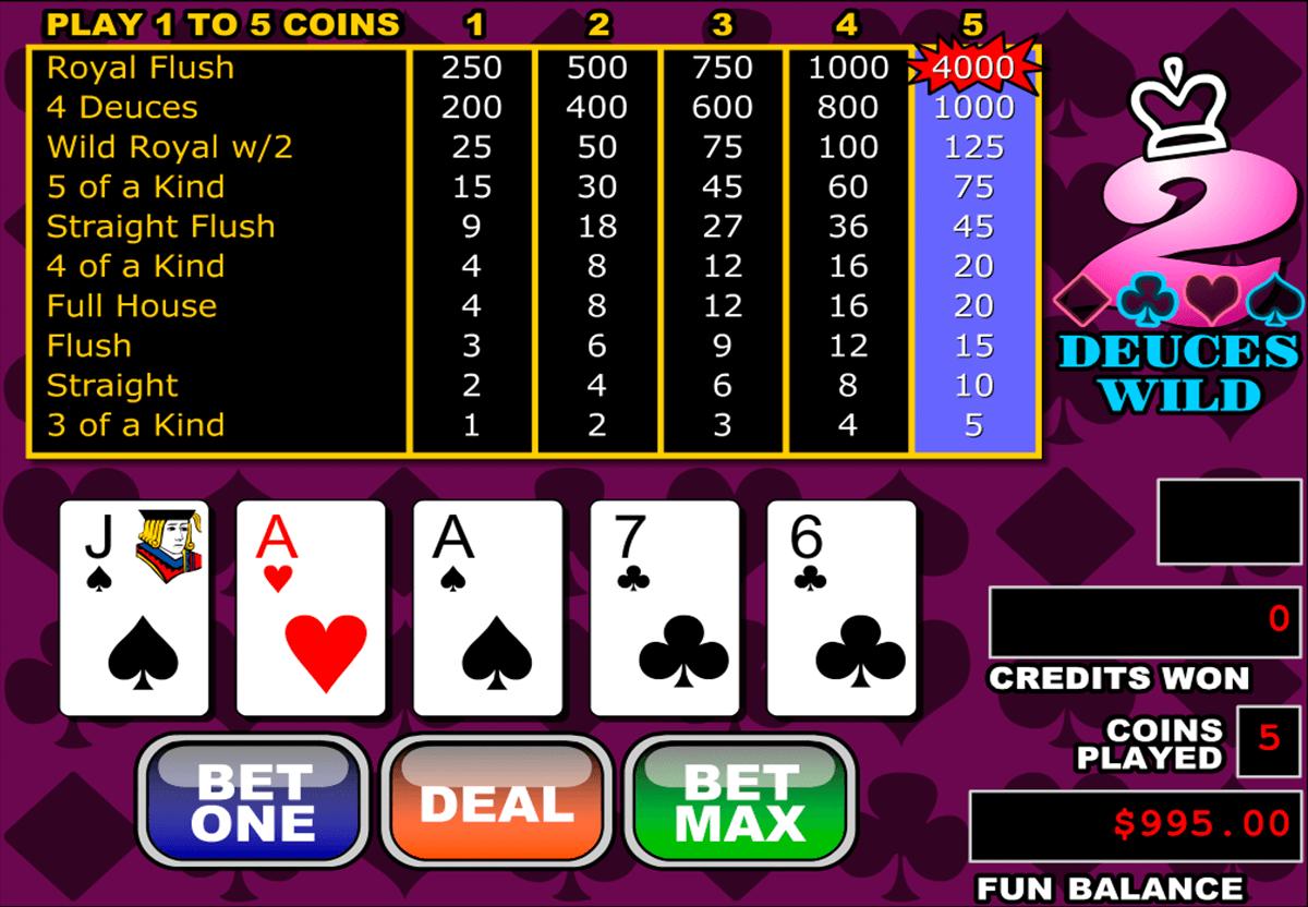 Spiele 25x Deuces Poker - Video Slots Online