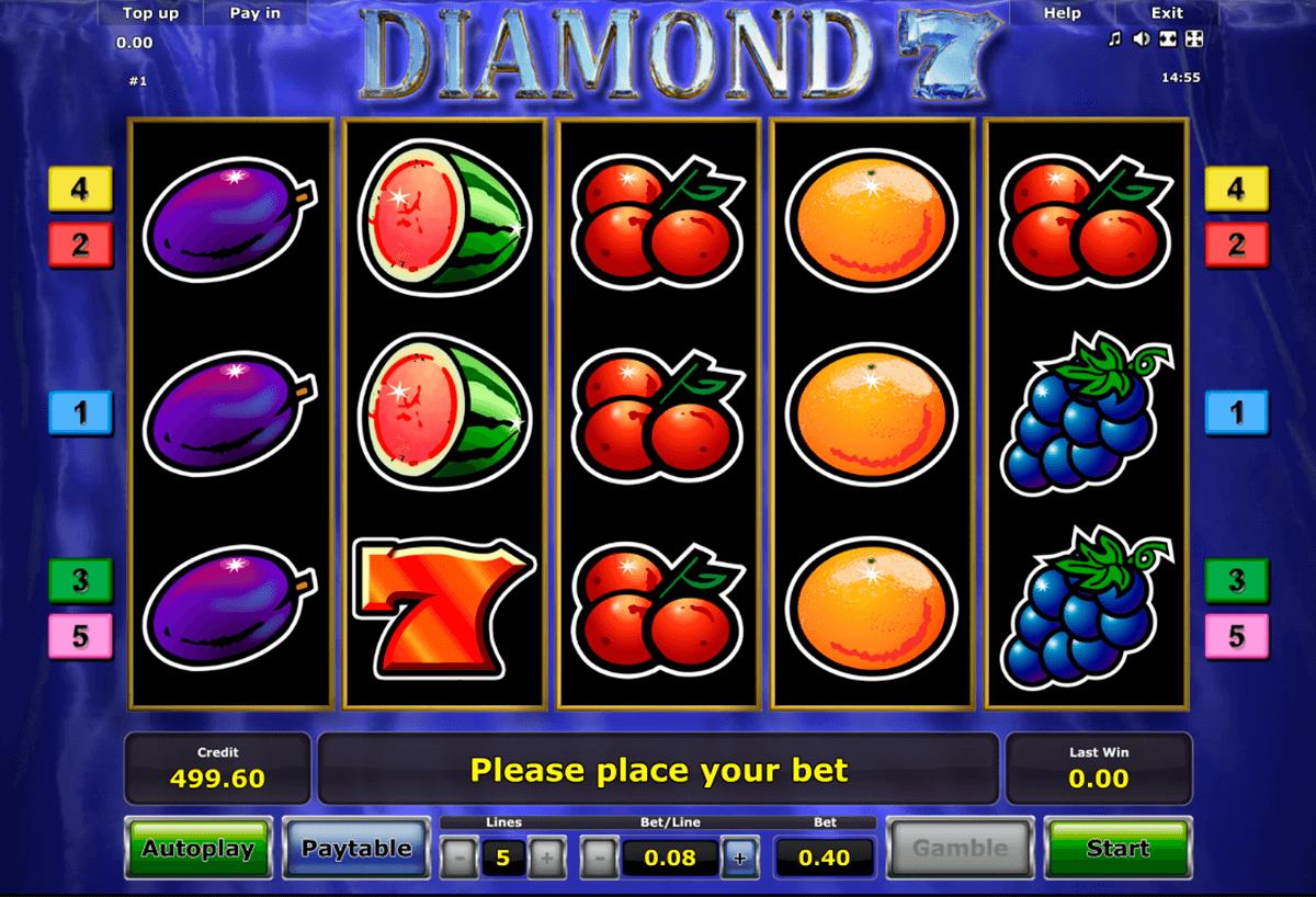 diamond 7 novomatic tragamonedas gratis
