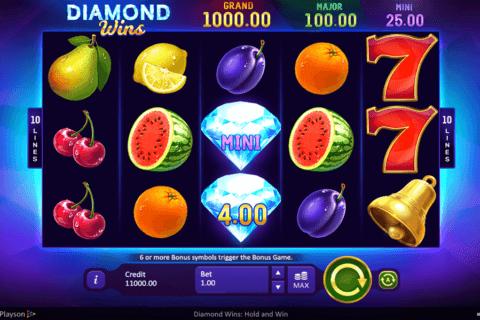 diamond wins playson tragamonedas gratis