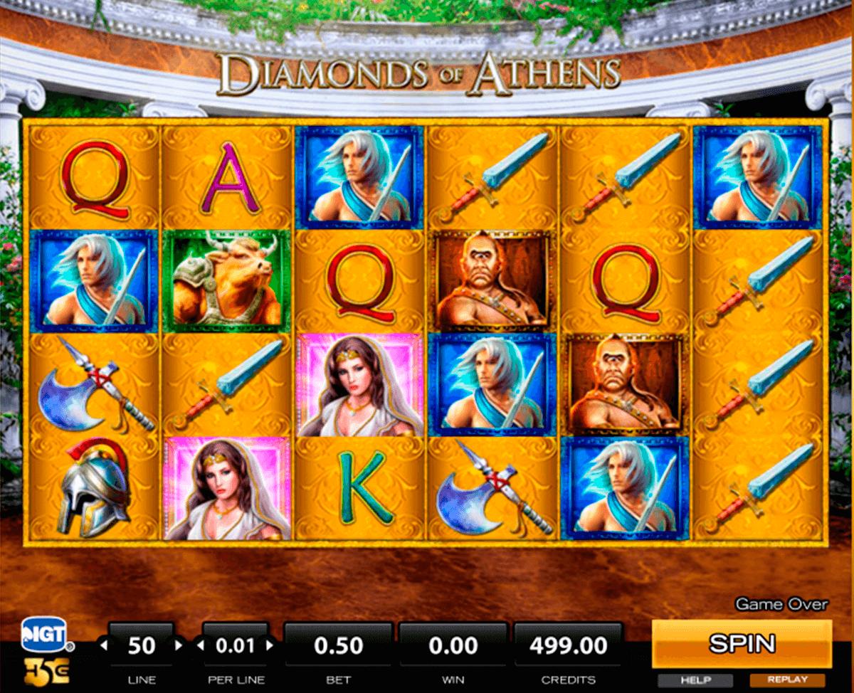 diamonds of athens high tragamonedas gratis