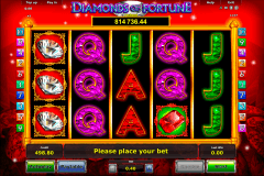 diamonds of fortune novomatic tragamonedas gratis