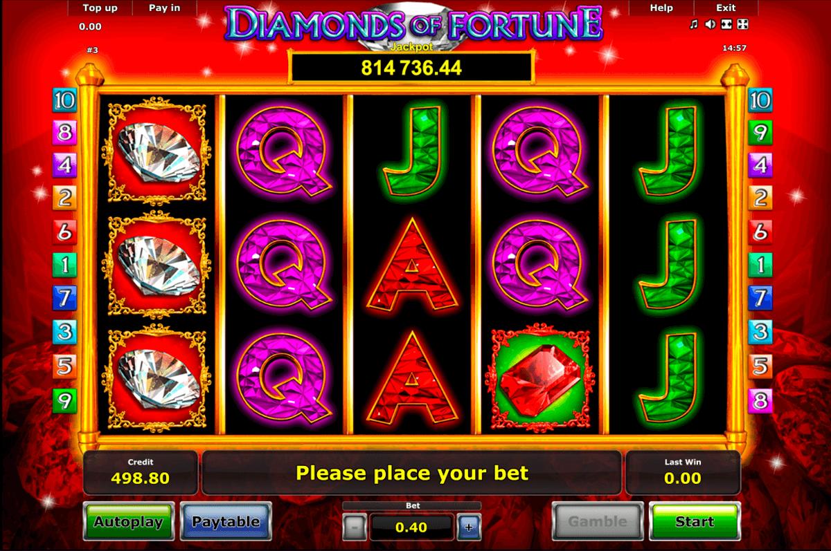 diamonds of fortune novomatic tragamonedas gratis